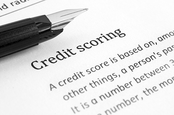 Credit scoring page definition image
